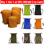 Waterproof Compression Sleeping Bag Stuff Sack Pouch Outdoor Camping Storage Kit