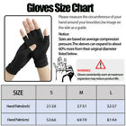 1Pair Copper Fit Arthritis Compression Gloves Hand Support Joint Pain Relief USA