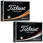2018 Titleist Pro V1 / Pro V1x White Golf Balls - Select Sleeve Dozen Pack Boxed