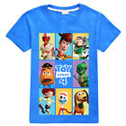 Pixar Toy Story 4 Forky T-shirt Woody Buzz lightyear Mens Ladies Kids TS4 Tops