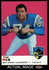 1969 Topps #99 Ron Mix Chargers NM $8.0 USD on eBay