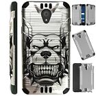 SILVER GUARD For Wiko Ride Phone Case Brushed Hybrid Cover A1