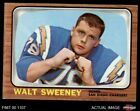 1966 Topps #126 Walt Sweeney Chargers Syracuse 5 - EX $3.75 USD on eBay