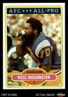 1980 Topps #305 Russ Washington - All-Pro Chargers NM $3.25 USD on eBay