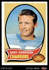 1970 Topps #23 Gary Garrison Chargers EX/MT $1.05 USD on eBay
