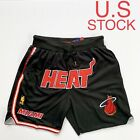 Miami Heat Basketball Shorts Mens Dwyane Wade Vintage Sizes M-3XL on eBay