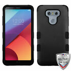 For LG G6 TUFF ARMOR CASE Rubberized Hard Cover