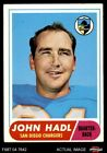 1968 Topps #63 John Hadl Chargers GOOD $0.99 USD on eBay