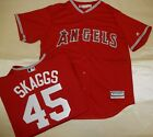 9517 Majestic MENS Anaheim Angels TYLER SKAGGS Baseball Jersey New RED