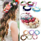 Women Boho Flower Floral Hairband Headband Crown Party Bride Wedding Beach Lot