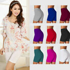 New Women's Fitness Shorts Soft Fitness Yoga Stretch Tights Cotton Spandex