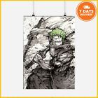 One Piece Roronoa Zoro Poster And Master Bedroom Decorating Ideas Japanese Anime