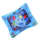 Baby Water Mat Tummy Time Inflatable Play Mat floor Activity Gym Crawling Kids u