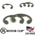 Rotor Clip SE Clip Stainless Steel Retaining Rings E Snap Rings All Sizes & QTYs