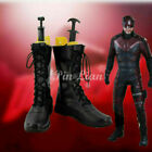 Daredevil Matt Murdock Boot Shoe Marvel Fiction Comics Superhero Cosplay  for sale  China