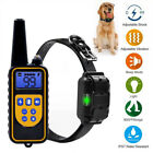 880 Yard 1/2/3 Dog Shock Pet Training Collar Remote Waterproof Electric LCD L