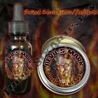 Devil's Mark South of Heaven Beard Balm Oil Triple Six Artistry Cinnamon Redhots