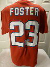 "9806 MENS Apparel Houston Texans ARIAN FOSTER ""23"" Football Jersey Shirt RED $2.99 USD on eBay"