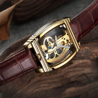Mens Tourbillion Quality Luxury Bling Skeleton Classic Mechanical Wrist Watch image