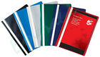 100 x A4 Project Report Files Folders Colour Choice 2 Pronge Same Day Dispatch