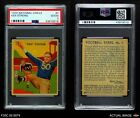 1935 National Chicle #7 Ken Strong  Giants PSA 2 - GOODFootball Cards - 215