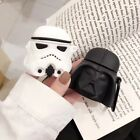 3D Star Wars Silicone Protective Cover For Apple Airpods Wireless Charging Case $5.99 USD on eBay