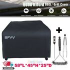 """600D BBQ Gas Grill Cover 58"""" w/ Brush Tong Outdoor Heavy Duty Fits Weber Model"""