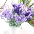 10 Head Lavender Bouquet Fabric Artificial Flower Wedding Party Home Decor Sanwo for sale  Shipping to Canada