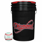 Diamond Bb-Ol Practice Baseballs & Bucket 24 Ball Pack W/Bucket