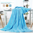 Soft Micro Plush Flannel Fleece Throw Blanket Twin Full Queen Size Bed Blankets image