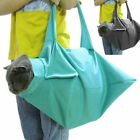 1pc Cat Pet Carrier Pouch Out Travel Backpack Blue & Black X5S9