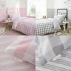 Bianca Kids Check And Stripe 100% Cotton Fitted Sheet