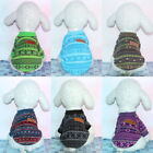 Pet Dog Winter Warm Clothes High Collar Coat  Sweater Knitwear For Puppy GIFT