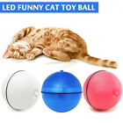 Pet LED Motion Ball Toy Flash Electric Activated Cat Dog Playing Waterproof
