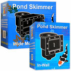 Kockney Koi Pond Skimmers In-Wall Clear Leaves Debris from Water Surface Fish