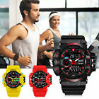 SMAEL Men Digital Watches LED Electronic Wristwatch Male Military Sport Watch image