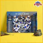 ST. LOUIS BLUES WIN THE 2019 STANLEY CUP Poster NHL Champion Poster US $20.99 USD on eBay
