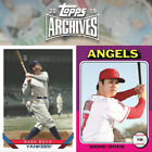 2019 Topps Archives Singles - #1 to #100 - You Pick - Complete your set on Ebay