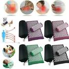 Acupuncture Massage Pads Relief Body Stress Pain Acupressure Cushion Yoga mat
