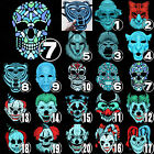 Halloween Sound Reactive Full Face LED Light Up Mask Dance Masks Rave Party US