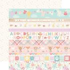 "Border Strips - Hello Baby Girl Double-Sided Cardstock 12""X12"" - 25/pack"