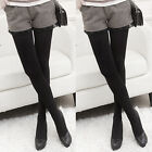 Womens Thermal Warm Fleece Lined Fur Winter Tight Pencil Leggings Pants Trousers