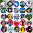 Circle Embroidered Sew On Iron On Patch Badge Fabric Craft Transfer Clothes Bag