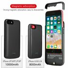 10000mAh Magnetic Battery Charging Case Cover Power Bank For iPhone 8 7 Plus XS