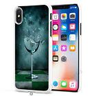 Glass Wine Design Phone Case Cover for Apple iPhone Models S034