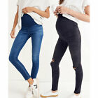 Authentic Madewell Maternity Over-the-Belly Skinny Jeans Danny Black