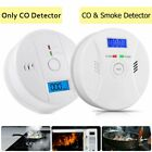 CO & Smoke Alarm Carbon Monoxide Smoke Integrated Detector Home Fire Warn Sensor