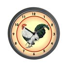 CafePress Rooster Time To Crow Unique Decorative 10 Wall Clock (1515272860)