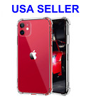 Hybrid Shockproof Thin Clear TPU Case Fits iPhone 11 /11 Pro Max / XR