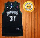 Kevin Garnett Minnesota Timberwolves Black Throwback Swingman Stitched Jersey on eBay